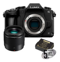 Panasonic Lumix DMC-G80 tělo