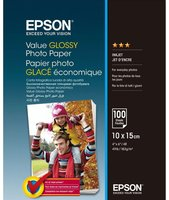Epson Value Glossy Photo Paper 10x15cm 100 listů