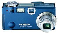Konica Minolta DiMAGE F300 modrý