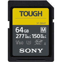 Sony SDXC Tough SF-M 64GB V60 U3 UHS-II