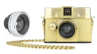 Lomography Diana Baby 110 & 12mm Lens - Gold Edition