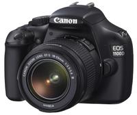 Canon EOS 1100D + 18-55 mm DC III + 8GB karta + brašna + filtr UV 58mm!