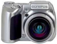 Olympus SP-510 UltraZoom stříbrný + síťový zdroj + xD 512MB H karta!