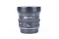 Canon EF 15 mm f/2,8 Fish-Eye bazar