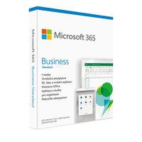 Microsoft 365 Business Standard, předplatné na 1 rok, CZ, BOX