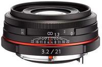 Pentax HD DA 21mm f/3,2 ED AL Limited černý