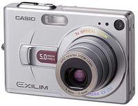 Casio EXILIM - Z50 silver, red