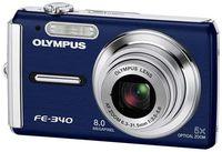 Olympus FE-340 modrý + XD 512MB karta!