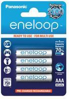 Panasonic Eneloop AAA baterie 750 mAh 4 ks