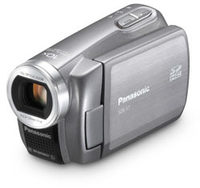 Panasonic SDR-S7 stříbrný + 8GB SD karta!