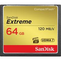 SanDisk 64GB CF EXTREME 120MB/s UDMA7