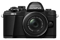 Olympus OM-D E-M10 Mark II + 14-42 mm EZ + 40-150 mm R černý - Foto kit