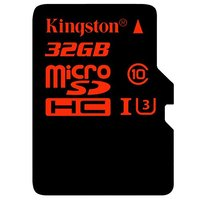 Kingston Micro SD (SDHC UHS-I Class 3) 32GB karta + adaptér SD