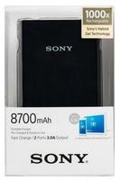Sony externí baterie a USB nabíječka CP-V9 8700 mAh černá