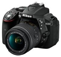Nikon D5300 + 18-55 mm AF-P VR černý Set pro ČB fotografii