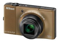 Nikon Coolpix S8000 hnědý