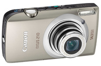 Canon IXUS 210 stříbrný