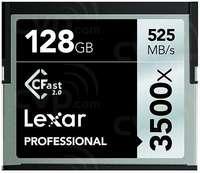 Lexar 128GB CF Professional 3500x CFast 2.0 525MB/s