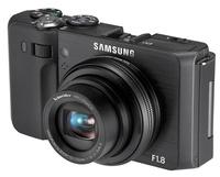 Samsung EX1 šedý + 8GB karta + pouzdro Surrounder 60 + náhradní akumulátor!