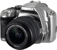 Pentax K-x stříbrný + 18-55 mm