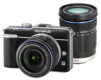 Olympus E-PL1 černý + 14-42 mm + 40-150 mm