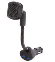Scosche magnetický držák MagicMount Power 2x USB