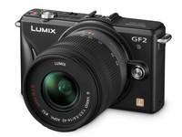 Panasonic Lumix DMC-GF2 černý + 14-42 mm + 14 mm