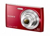 Sony CyberShot DSC-W510 červený