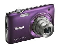 Nikon Coolpix S3100 fialový