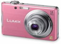 Panasonic Lumix DMC-FS16 růžový