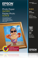 Epson Photo Paper Glossy A4, 50 listů