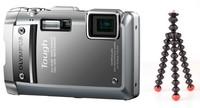 Olympus TG-810 stříbrný + gorillapod magnetic zdarma!
