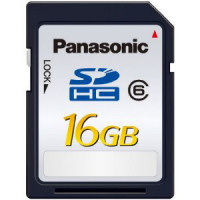 Panasonic SDHC 16 GB Class 6