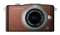 Olympus E-PM1 + 12-50 mm hnědý