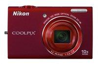 Nikon Coolpix S6200 červený