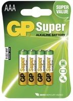 GP AAA super alkalická baterie 1ks