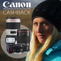 Začíná jarní Cashback Canon - získejte při nákupu zpět až 6 000 Kč