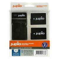 Jupio Kit 2x DMW-BLC12E + USB Single Charger pro Panasonic