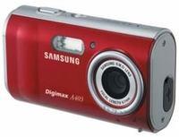 Samsung Digimax A403 červený