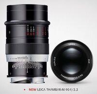 LEICA Thambar-M 90 f/2.2 - buďte originální