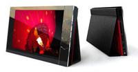 Digitální Album červený hliník / černá kůže