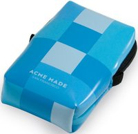 Acme Made Smart Little Pouch Blue Gingham