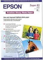 Epson Premium Glossy Photo Paper A3+, 20 listů