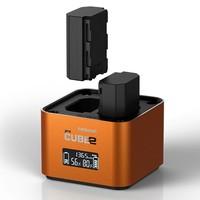 Hahnel univerzální nabíječka Pro CUBE2 pro Sony