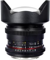 Samyang CINE 14mm T/3,1 VDSLR II pro Nikon