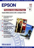 Epson Premium Semigloss Photo Paper A3, 20 listů