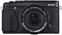 Fujifilm X-E1 tělo černý + 18 mm
