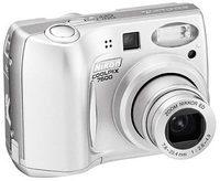 Nikon Coolpix 7600 LP stříbrná