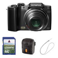 Olympus SZ-30MR černý + 4GB karta + pouzdro 70M + kovový řetízek  zdarma!