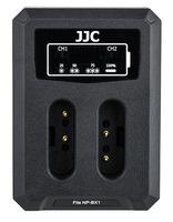 JJC duální USB nabíječka pro akumulátor 2× Sony NP-BX1